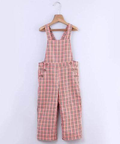 Beebay Y/D Check Dungaree - MANERAA