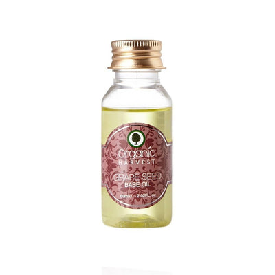 Organic Harvest Grape Seed Oil, 60ml - MANERAA