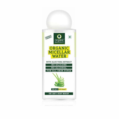 Organic Micellar Water With Aloe Vera Extract, 90ml - MANERAA