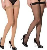 2 Pcs skin stockings plus 2 pcs Black stockings - MANERAA