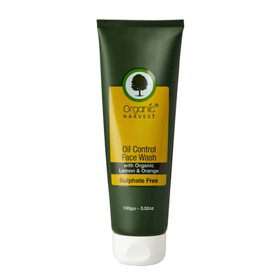 Organic Harvest Face Wash - Oil Control (Sulphate Free), 100g - MANERAA