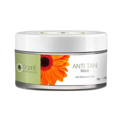 Organic Harvest Anti Tan Mask, 50g - MANERAA