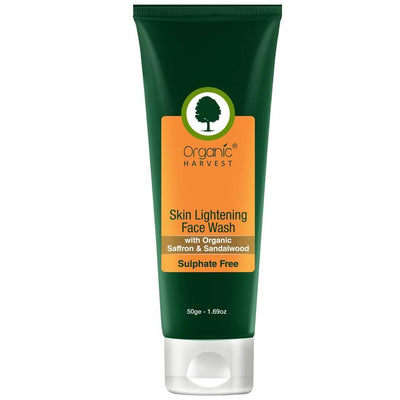 Organic Harvest Face Wash - Skin Lightening (Sulphate Free), 50g - MANERAA
