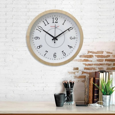 Noble (10inches) Wooden Wall Clock - MANERAA