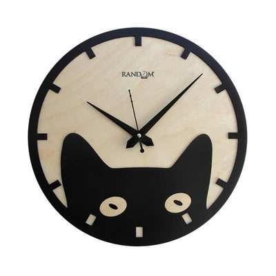 Lofty (11.5 Inches) Wooden Wall Clock - MANERAA