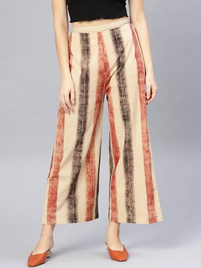 Women's Striped Palazzo - MANERAA