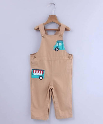 Beebay Food Truck Applique Dungaree - MANERAA