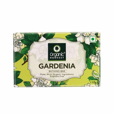 Organic Harvest Gardenia Bathing Bar, 110g - MANERAA