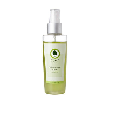 Organic Harvest Green Cucumber Toner, 125 ml - MANERAA