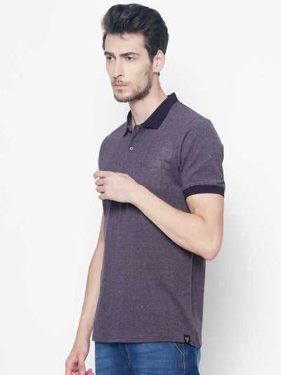 Brown Colour Polo Half Slevee T-shirts - MANERAA
