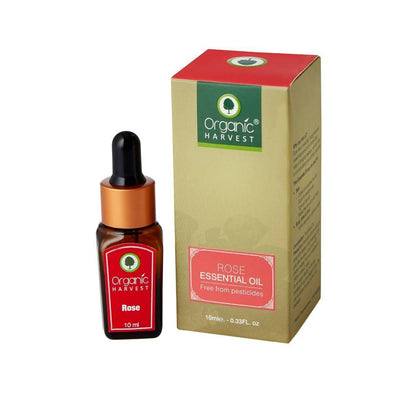 Organic Harvest Rose Essential Oil, 10ml - MANERAA