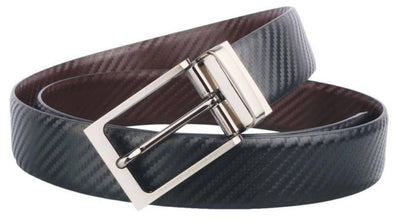 Branded Premium Reversible Buckle Belt - MANERAA