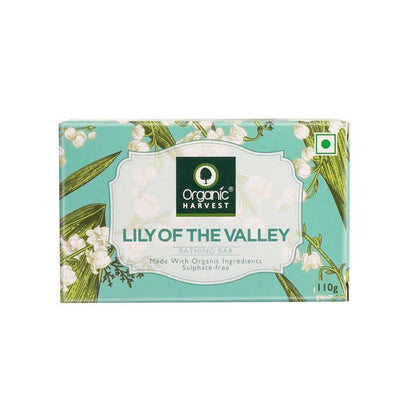 Organic Harvest Lily of the valley Bathing Bar, 110g - MANERAA