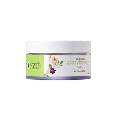 Organic Harvest Anti Wrinkle Mask, 50g - MANERAA