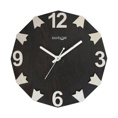 Ring Bell (11.5 Inches) Wooden Wall Clock - MANERAA