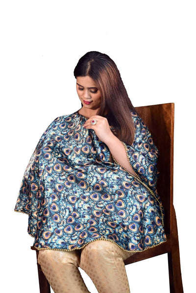 Mum's Caress Festive Nursing Covers - Satin for breastfeeding moms - MANERAA