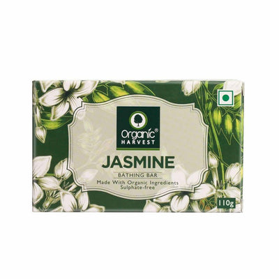 Organic Harvest Jasmine Bathing Bar, 110g - MANERAA