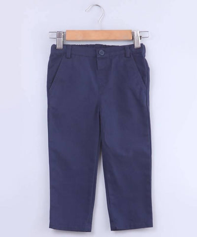 Beebay Solid Chino Trousers - MANERAA