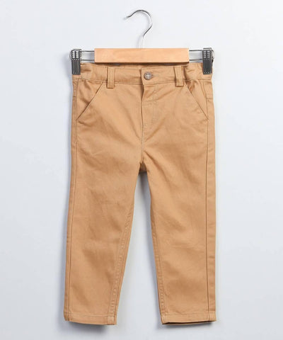 Mustard Chino Trousers - MANERAA