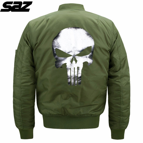 Saz 2020 Men New Camouflage Harajuku Pilot Flight Jacket Coat Male Casual Fashion Camouflage Bomber Hooded Jackets