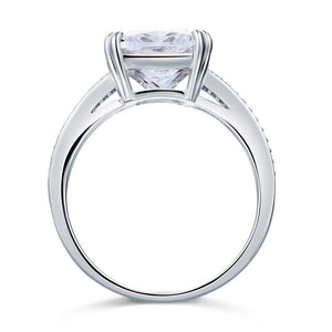 Solid 925 Sterling Silver Luxury Ring Anniversary 6 Carat Created Diamante XFR8152