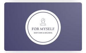 For Myself Body care and wellness logo