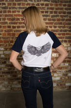 Load image into Gallery viewer, T-Shirt short-sleeved Eagle Wit & French Navy blue