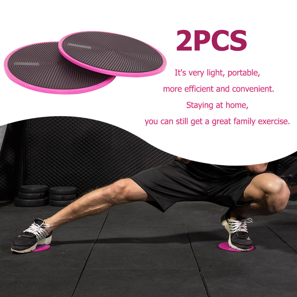 Abdominal Core Training Fitness Glide Plates (1 Pair)