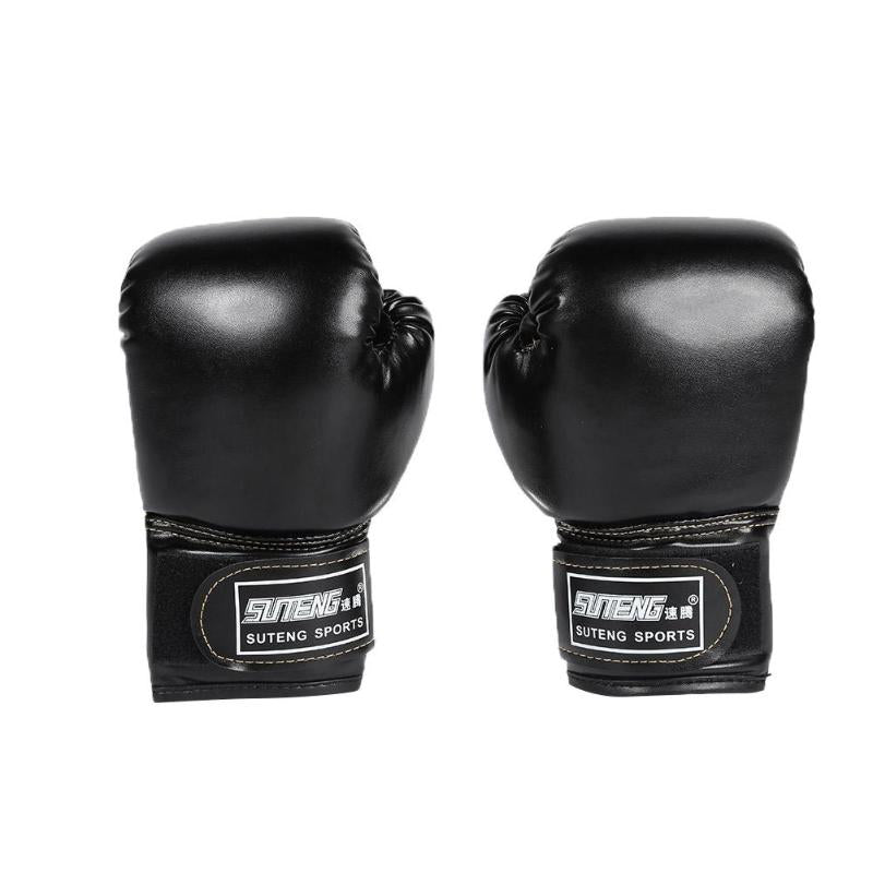 1 Pair Kids Boxing PU Leather Gloves 7 colors
