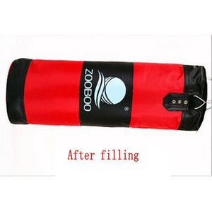 Training Fitness MMA Boxing Sandbag (35.4 in) with Gloves