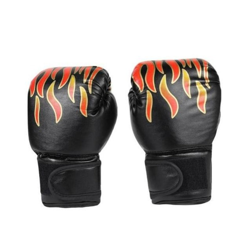 1 Pair Kids Boxing PU Leather Gloves 3 colors