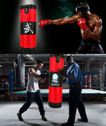 Load image into Gallery viewer, Training Fitness MMA Boxing Sandbag (35.4 in) with Gloves