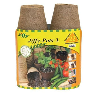"Jiffy Pots 3"" Round 22 pack"