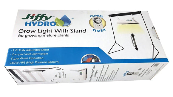 Jiffy Hydro Grow Light with Stand