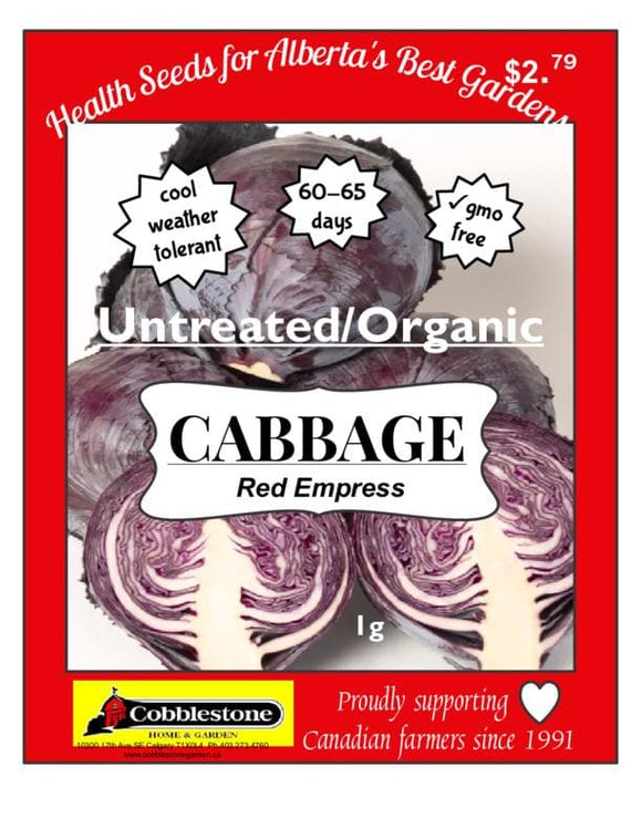 Cabbage Red Empress