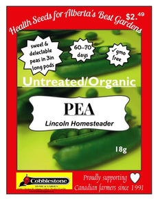 Pea Lincoln Homesteader