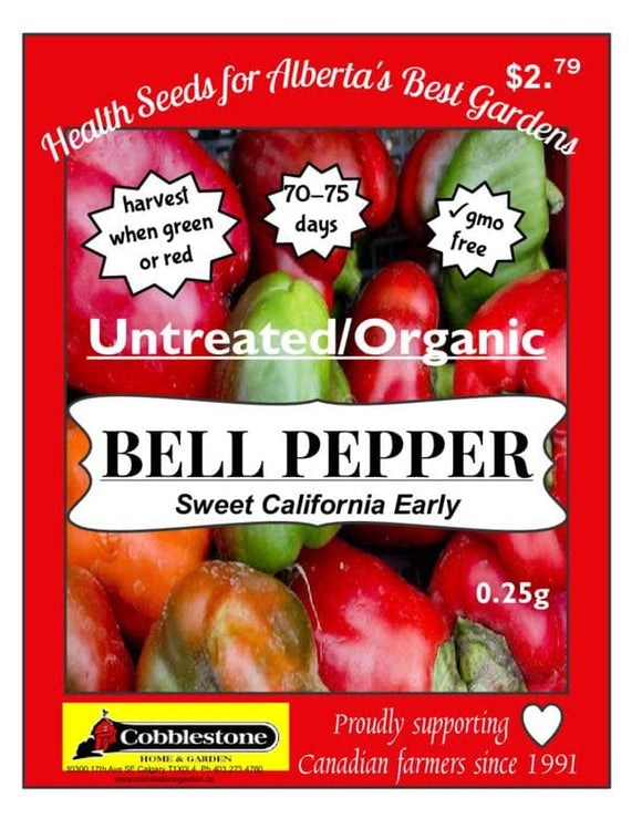 Pepper Bell California Early