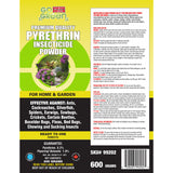 Go Green Pyrethrin Powder 600g