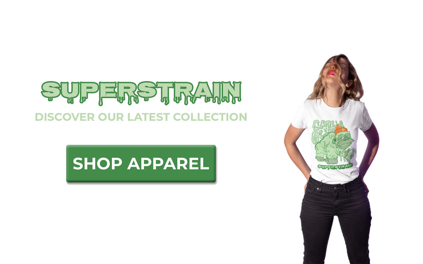 Superstrain Apparel Gorilla Glue