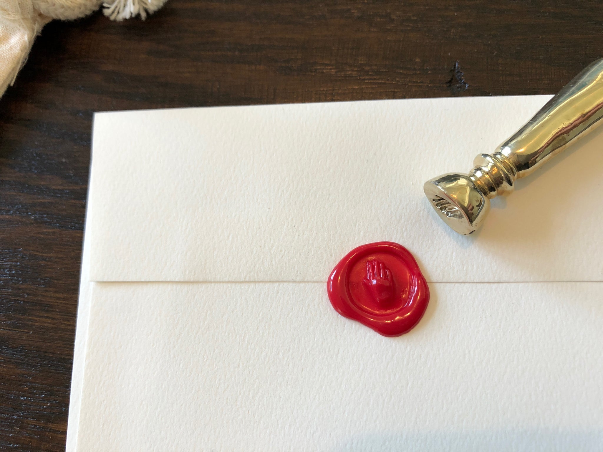 Wax Sealing Stamp: Hand