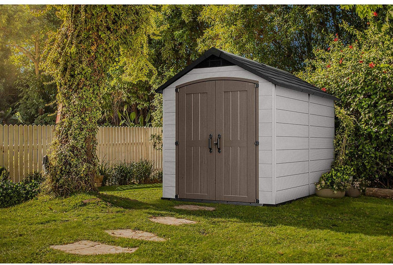 Keter Montfort 7.5 x 11 Resin Outdoor Storage Shed