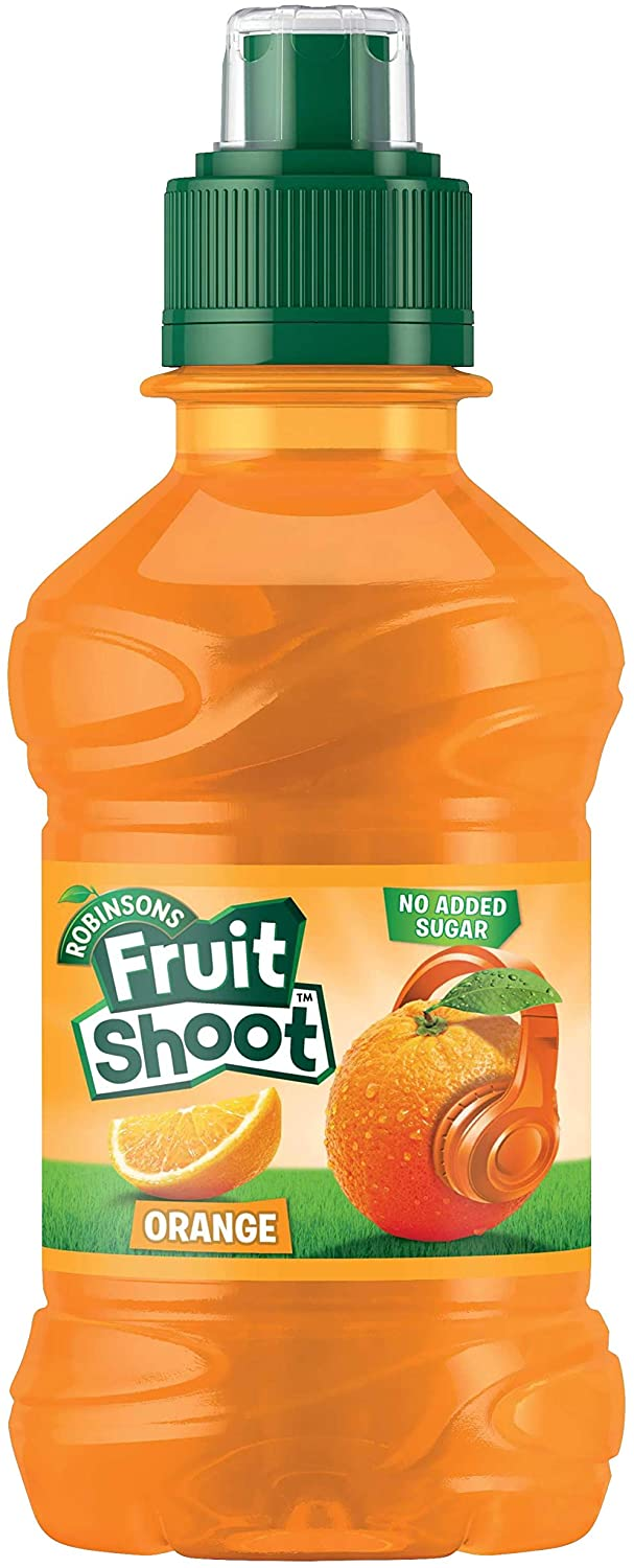 Robinsons Fruit Shoot Orange, 24 x 200ml - Case of 24