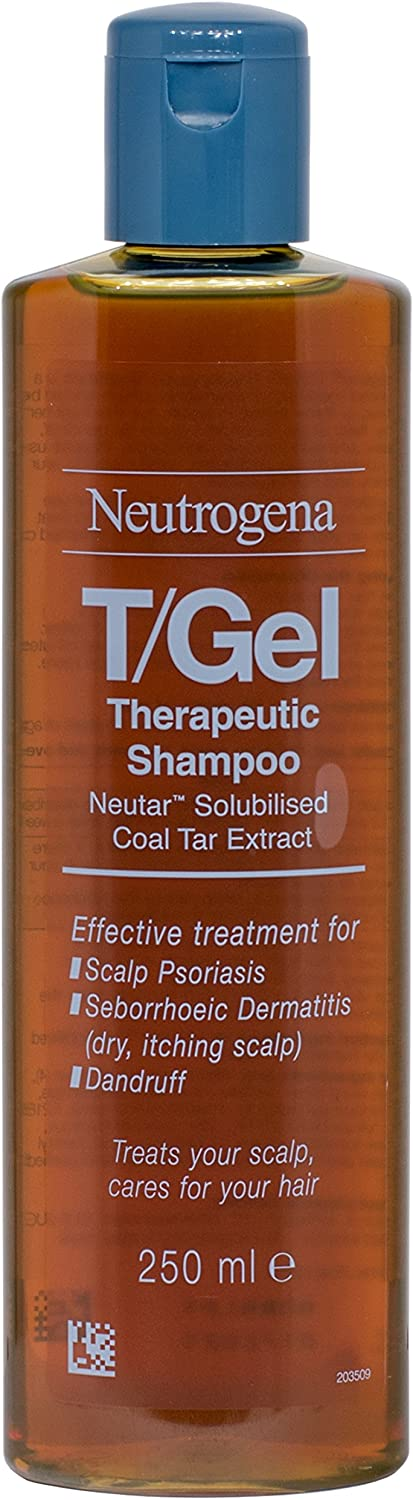Neutrogena T-GEL Therapeutic Shampoo 250ml - 2 Pack