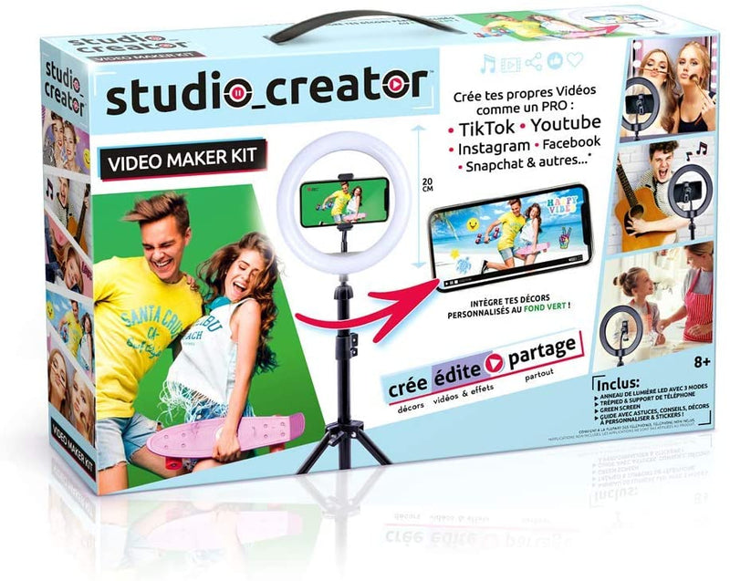 Studio Creator- Video Maker Kit-Deviens Un influenceur, INF 001