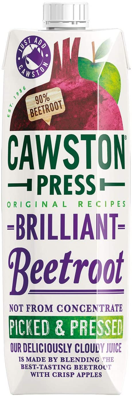Cawston Press Brilliant Beetroot Pressed Juice, 1 l, Pack of 6