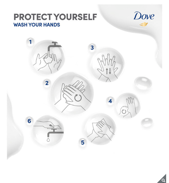 Dove Original Beauty Cream Bar Soap Pack of 12 Bar