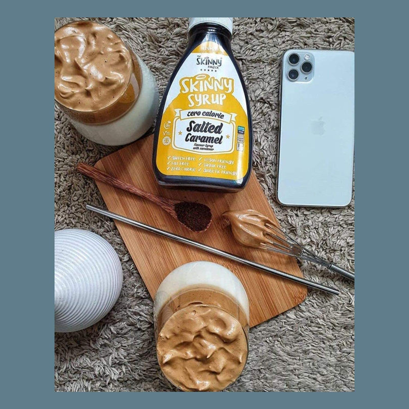 Skinny Salted Caramel Syrup 425ml