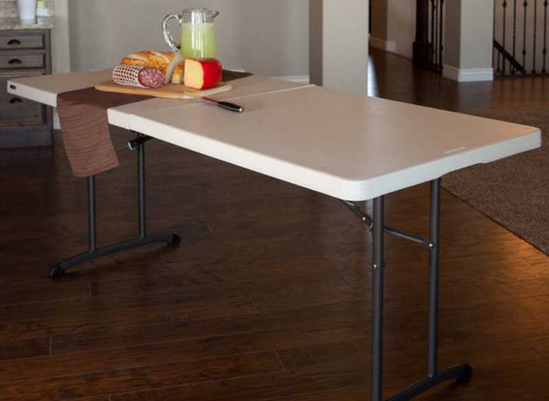 Lifetime 6ft Fold in Half Commercial Grade Table