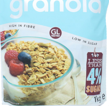 Lizi's Low Sugar Granola, 1kg