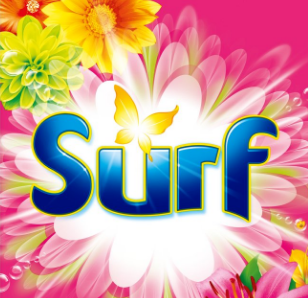 Surf Mega Pack 130 Wash Tropical Lily & Ylang Ylang Washing Powder Detergent +20% Perfume